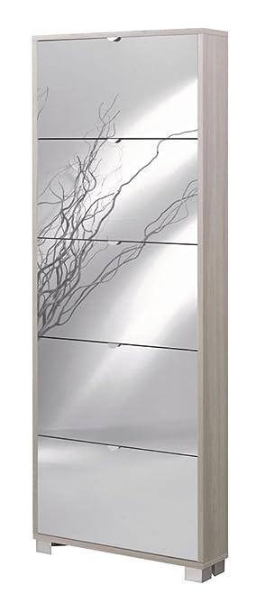 Credenze conforama - Scarpiera a ribalta con specchio ...