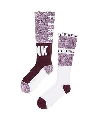 d16d6c34cd Image Unavailable. Image not available for. Color  Victoria s Secret PINK  Socks ...
