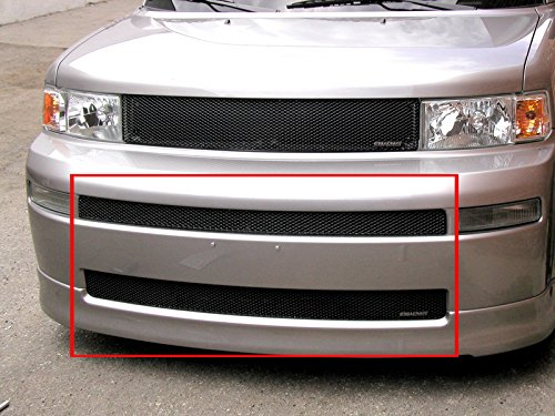 (2005-2007 SCION XB MIDDLE & LOWER GRILLE (2 Pieces) (Gloss Black Finish))