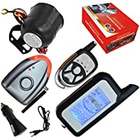 Cardot Diy Car Alarm With LCD Remote Response Alarm Wireless Siren Alarm Mode