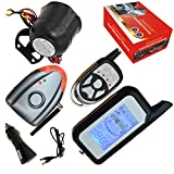 Cardot Diy Car Alarm With LCD Remote Response Alarm Wireless Siren Alarm Mode