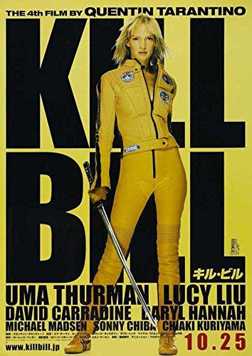 Kill Bill Vol. 1 Japanese Poster