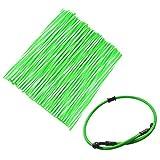 JRL Green Wheel Spoke Wraps Skins Coat Trim