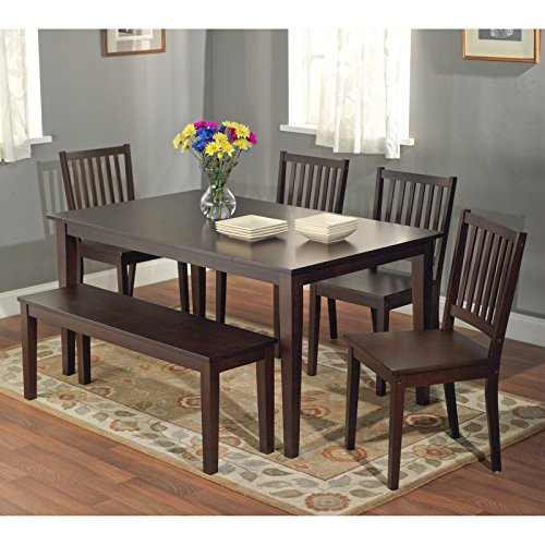 Metro Shop Havana Carson Large Dining Table Black