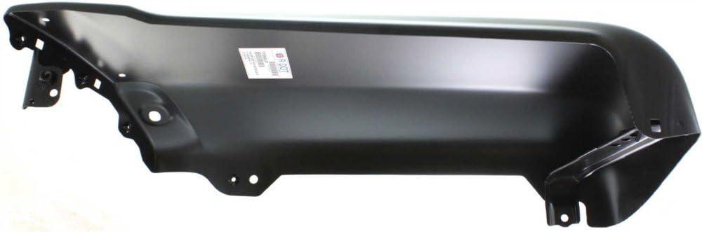 Bumper End Compatible with Toyota 4Runner 99-02 Rear Primed W//Fender Flares Base//SR5//Limited Models Right Side Plastic