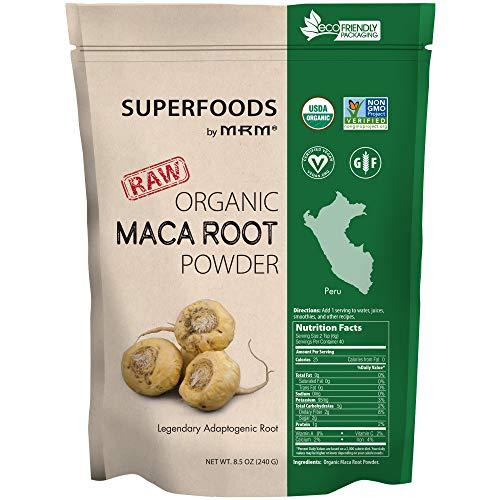MRM - Maca Root Raw Superfood, Organic, Non-GMO Project Verified, Vegan & Gluten-Free (8.5 oz)
