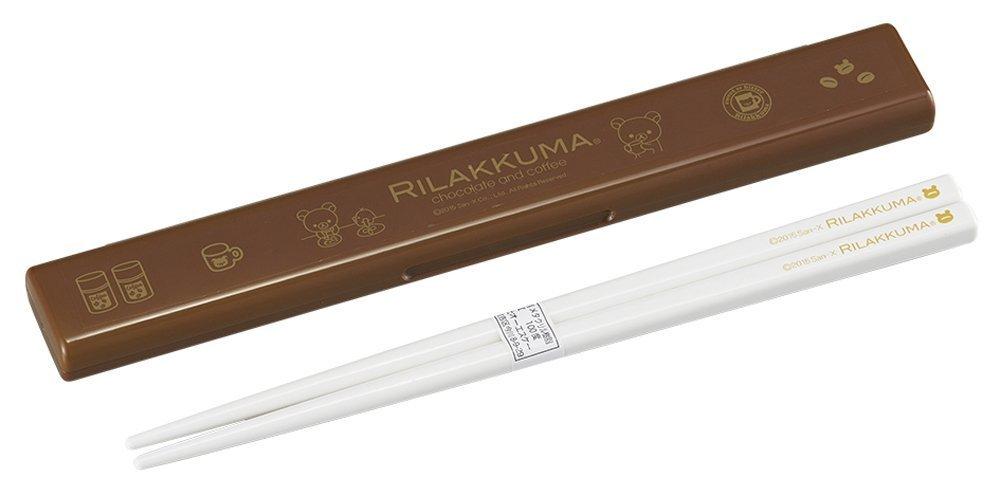 OSK Rilakkuma Chopsticks set 19.5cm HS-12 Made in Japan