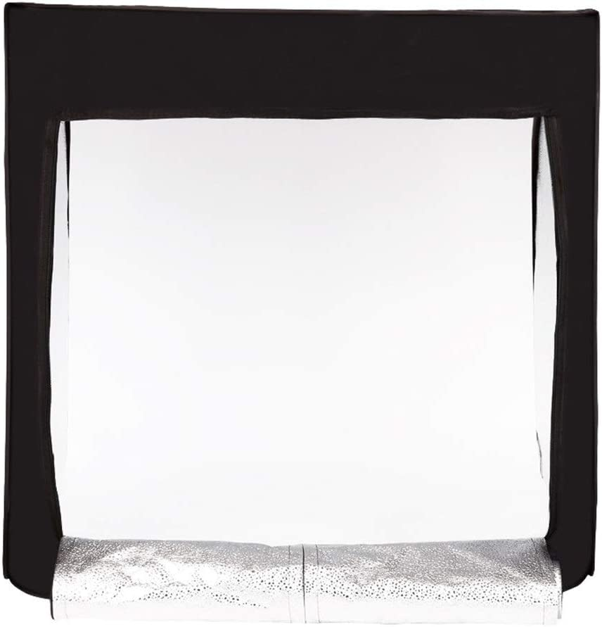 FeliciaJuan-Home Foldable 75cm Small Mini Photo Studio Shooting Tent Soft Light Photography Light Box Portable Product Still Items Shed Color : Black, Size : 757575cm