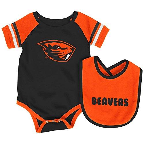 Colosseum Oregon State Beavers Baby Bodysuit and Bib Set Infant Jersey (0-3 - Jerseys Oregon State