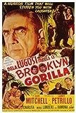 Bela Lugosi Meets a Brooklyn Gorilla POSTER Movie (27 x 40 Inches - 69cm x 102cm) (1952)