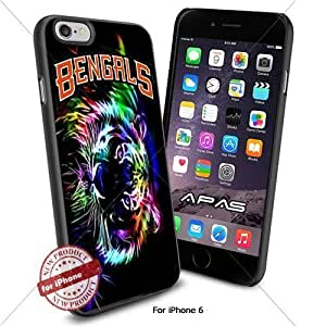 Cincinnati Bengals NFL ,Cool Iphone 6 Smartphone Case Cover Collector iphone TPU Rubber Case Black color [ Original by WorldPhoneCase Oly ]