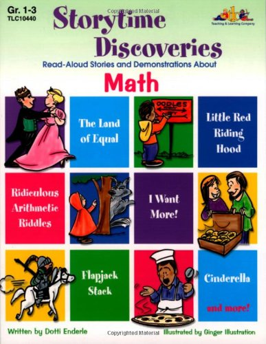 Read Online Storytime Discoveries: Read-Aloud Stories and Demonstrations About Math, Grades 1-3 PDF