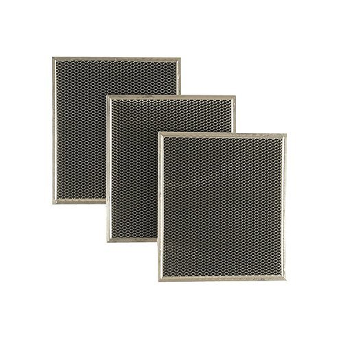 Whirlpool KitchenAid Vent Hood Charcoal Filter (3 pac) W10412939