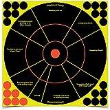 Shoot-N-C Handgun Trainer Targets - 5 Count