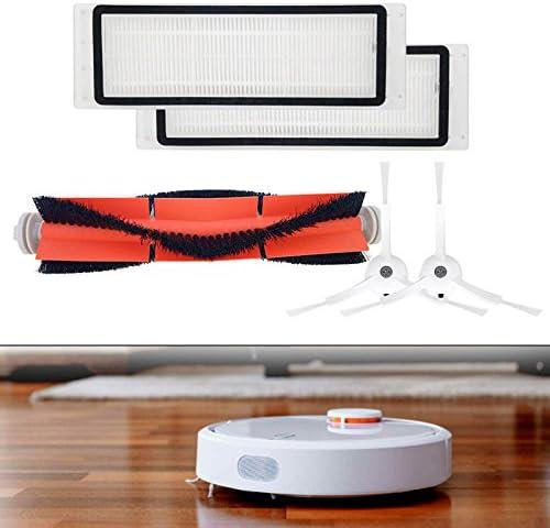 lzndeal Xiaomi Vacuum Cleaner, mi, Robot aspirador robot Barredora, Robot aspiradora Hepa Filtro de cepillos laterales Juego de herramientas para, cocina presupuesto Wohnen Inteligencia Color Blanco: Amazon.es: Hogar