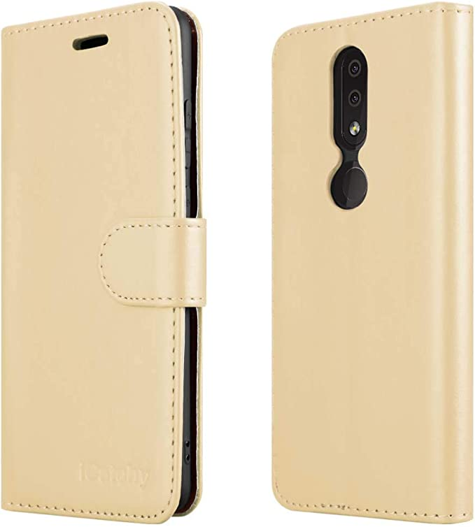 for Nokia 1.3 Phone Case Magnetic Closure Full Protection Book Design Wallet Flip with and Kickstand Case Collection Premium Leather Folio Cover for Nokia 1.3 Case Card Slots 5.71