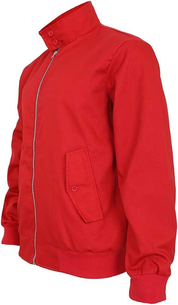 Parsa Fashions Malaika Harrington Jacket talla XS a XXXXXL chaqueta de moda de los a/ños 70 de los a/ños 70 Chaqueta cl/ásica para hombre estilo retro