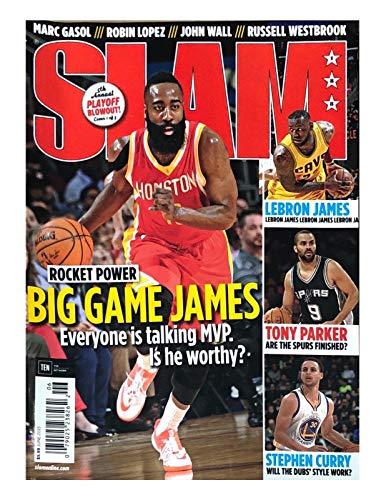 SLAM MAGAZINE, JUNE 2015 NO.188. ROCKET POWER BIG GAME JAMES.