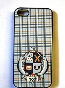 (317bi5) Reddit Coat of Arms Apple iPhone 5 Black Case Narwhal Bacon