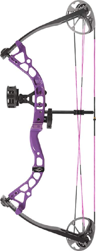 Diamond Archery Atomic Purple Bow Package 29 Pound Right Hand