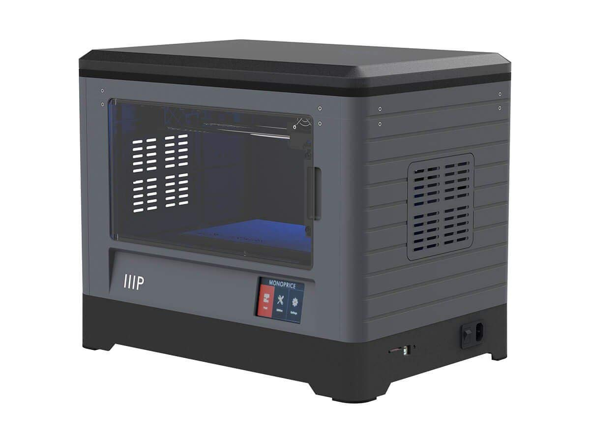 Monoprice MP Fully Enclosed Dual Extruder 3D Printer, Easy Wi-Fi ...