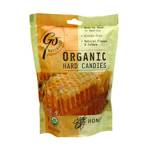 (Go Organic Hard Candy - Honey - 3.5 Oz - Case Of)