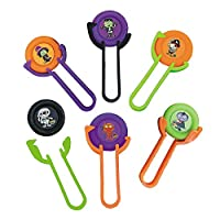 Halloween Flying Disc Shooter Games Party Favor Packs - 6 pieces