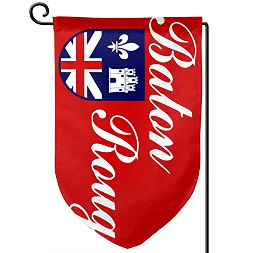 sport outdoor 003 Flag of Baton Rouge 12.518 Inch Garden Flag Waterproof Double Sided Yard Outdoor Decorative]()