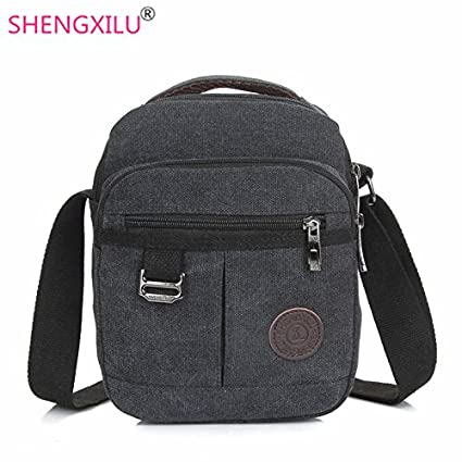 4eb5659bd5b Genric Army Green   Shengxilu canvas men messenger bag casual male  crossbody bags brand logo shoulder