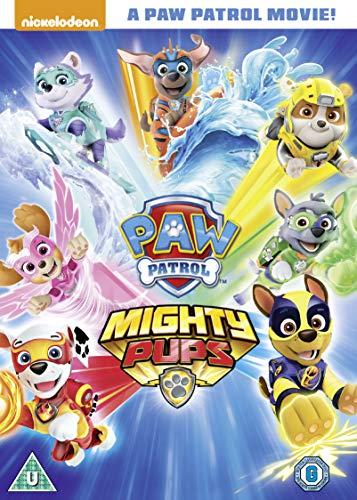 Amazon Com Paw Patrol Mighty Pups Dvd 2019 Movies Tv