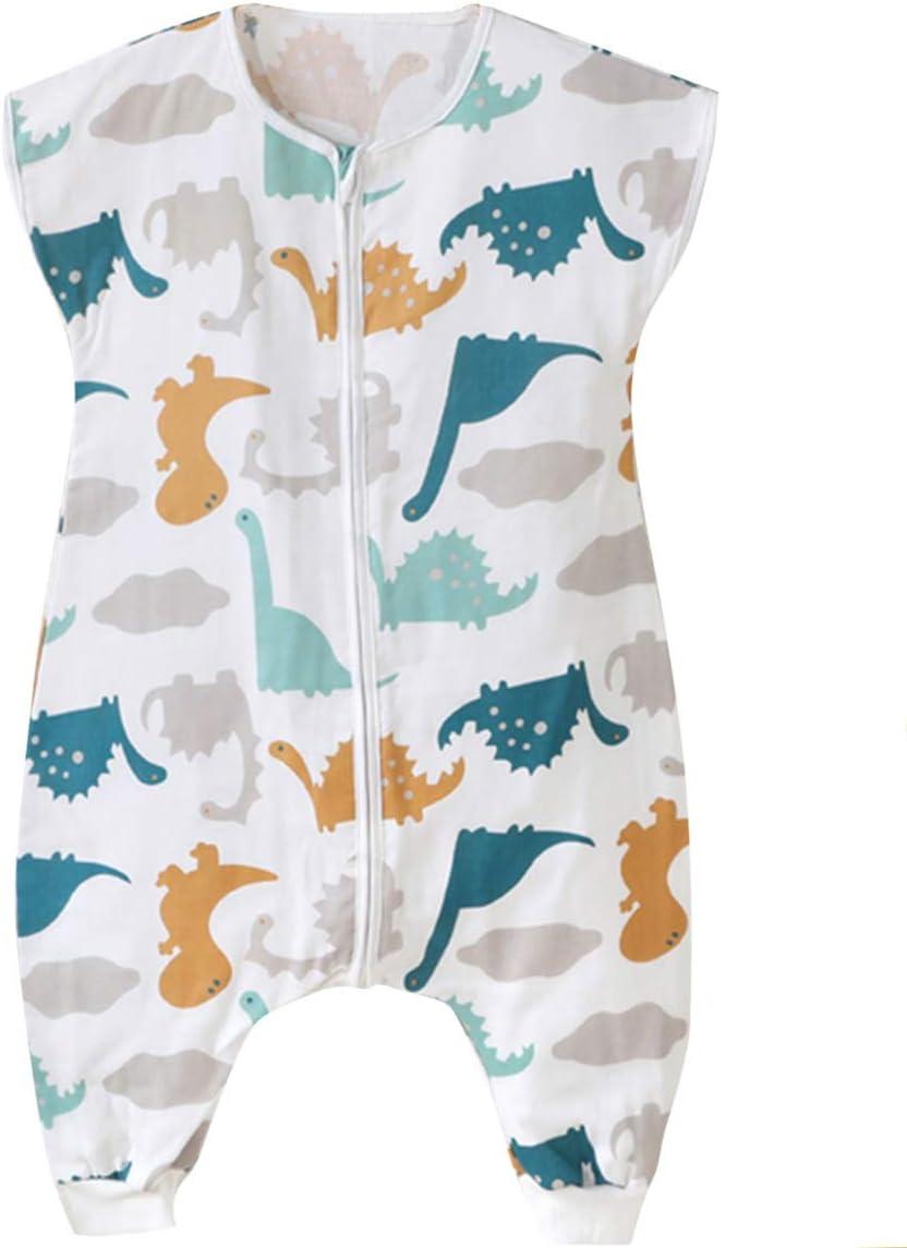 Panpan Tree Gigoteuse /à Pied Mousseline de Coton /ét/é B/éb/é Fille L/ég/ère Grenouill/ère Manche Longue Pyjama Et/é Fin Sac de Couchage Jambe Enfant Fille /ét/é 6-12 Mois Bleu