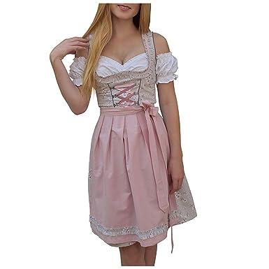 Vestido Sexy Floral Estampado Oktoberfest Vestido sin Hombros ...