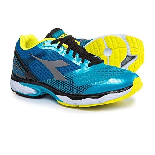 Diadora N-6100-4 Men's Running Shoes (Size 10) Blue/Yellow