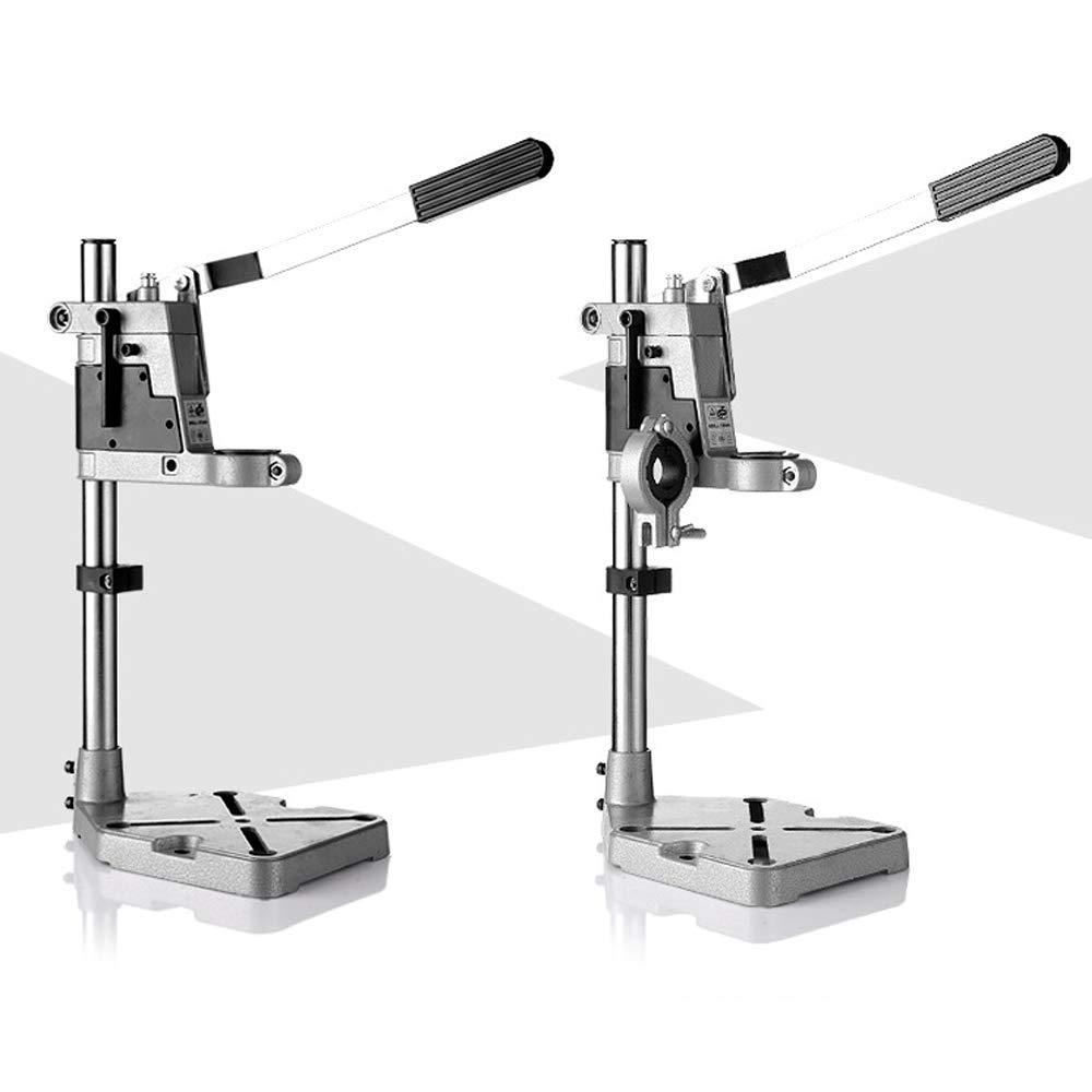 Taladro soporte vertical columna ajustable para banco de broca,soporte de taladro con columna taladros el/éctricos Herramienta Accesorios