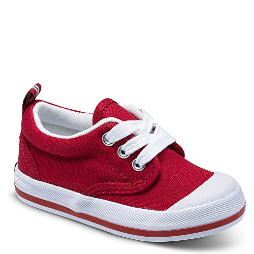 Keds boys Graham Classic Lace-Up Sneaker ,Red,7 M US Toddler