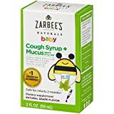 Zarbee's Naturals Baby Cough Syrup + Mucus, Natural Grape Flavor, 2 Fl. Ounces