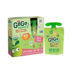 Gogo Squeeze Applesauce - Apple Peach - Case Of 12 - 3.2 Oz.