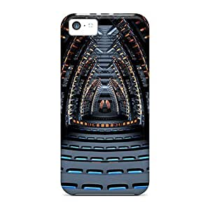 Durable Space Concert Hall Back Case/cover For Iphone 5c