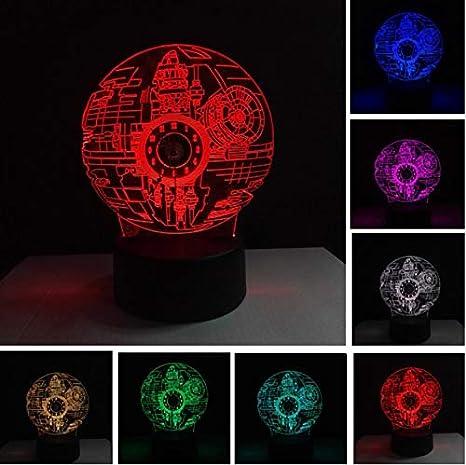 Amazon.com: KLSOO 3d Force Awakens Star Wars estrella de la ...