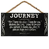 For I Know The Plans I Have For You Jeremiah 29:11 Hanging Sign 5 X 10