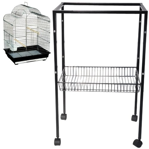 King's Cages ES7 Metal Stand for All ES2016 Cages 20 1/2 W x 16 1/8 D x 31 1/8 H bird cages toy toys parakeet parrot parakeet budgie by King's Cages