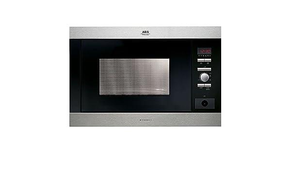 AEG MC-2663 E-m, 1300 W, 230V, 50 Hz, Acero inoxidable, 592 x 437 ...