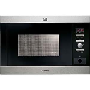 AEG MC-2663 E-m, 1300 W, 230V, 50 Hz, Acero inoxidable, 592 x 437 x 388 mm, 21000 g, 342 x 368 x 207 mm - Microondas