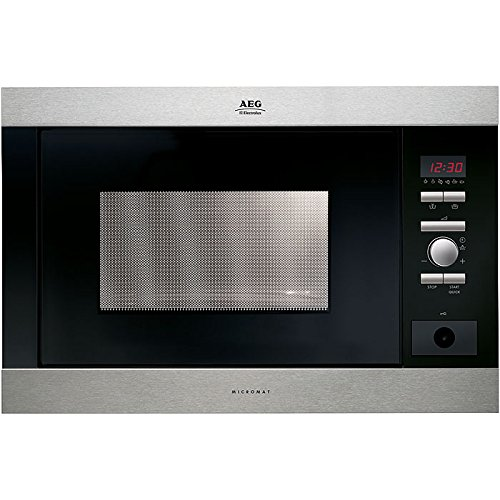 AEG MC-2663 E-m, 1300 W, 230V, 50 Hz, Acero inoxidable, 592 ...