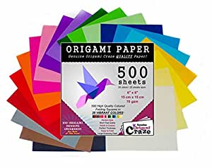 amazon com origami paper 500 sheets premium quality for arts and