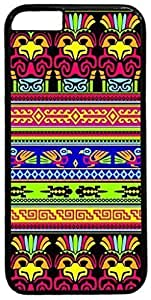 Animals-Mexican-Pattern Case for iPhone 6 Plus 5.5 inch PC Material Black(Compatible with Verizon,AT&T,Sprint,T-mobile,Unlocked,Internatinal) in GUO Shop