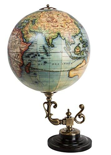 Vaugondy 1745 Globe with Baroque Stand