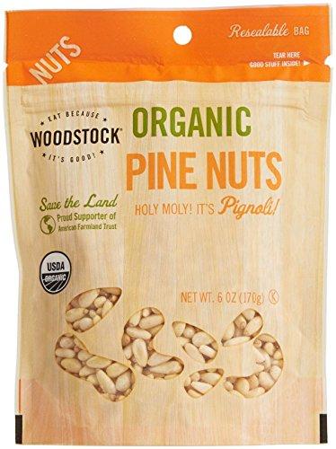 Woodstock Farms Organic Pine Nuts-6 oz by Woodstock Farms
