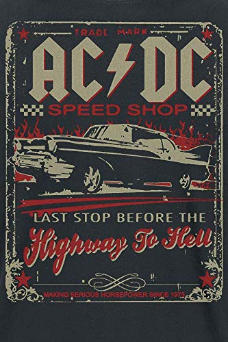 AC/DC Highway To Hell - Speed Shop T-Shirt schwarz Marx and Marx Inc.