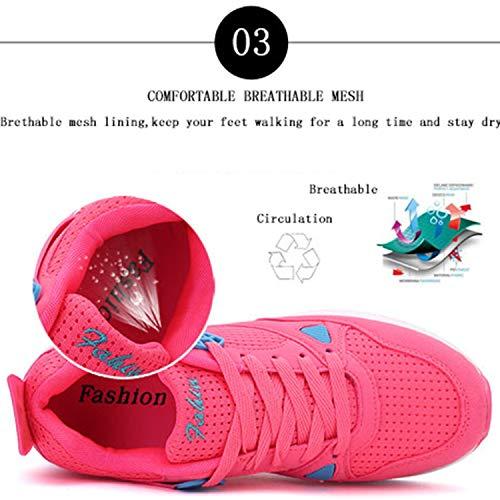 Zapatillas Negro Mujer Bornran de Running para 1wRRBzq